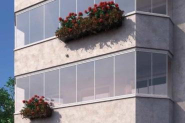 Cortinas de cristal terrazas sin perfiles