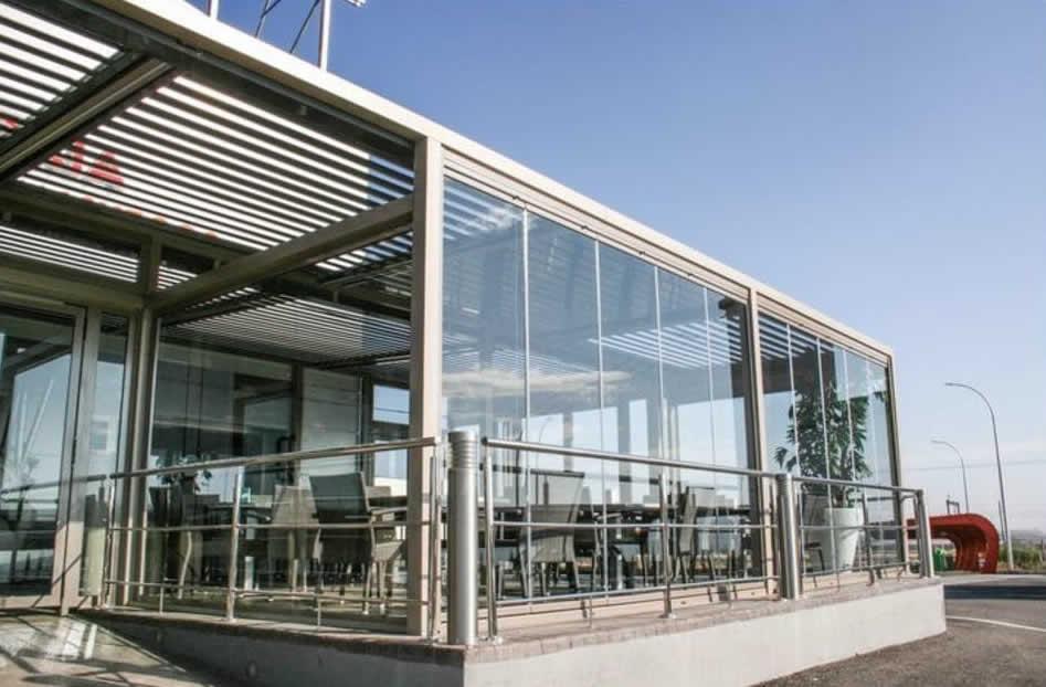 Cortinas de cristal en c rdoba para terrazas y decorativas cruz s nchez - Cortinas de cristal opiniones ...