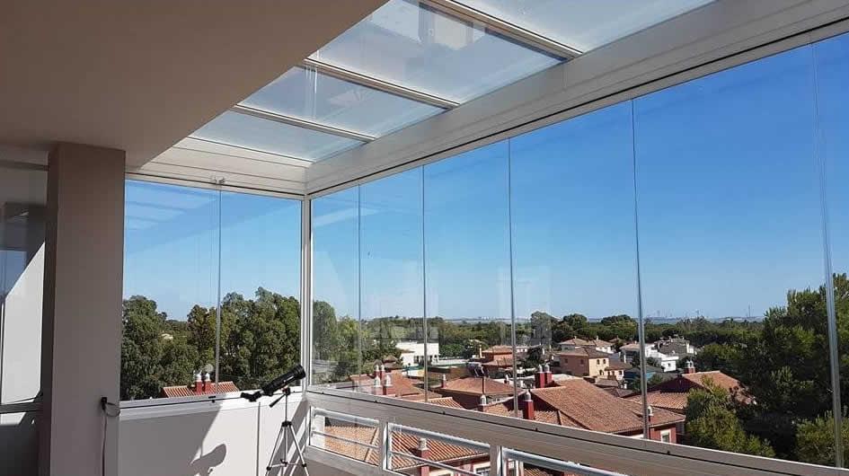 Cortinas de Cristal en Córdoba para terrazas y decorativas | Cruz ...