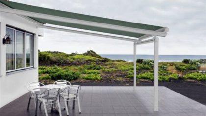 Sistema Veranda con Portería Delantera