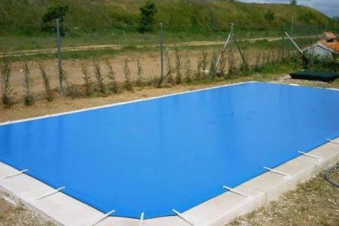Cobertor piscina pvc